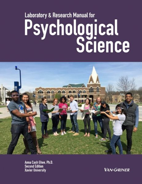 Laboratory & Research Manual for Psychological Science